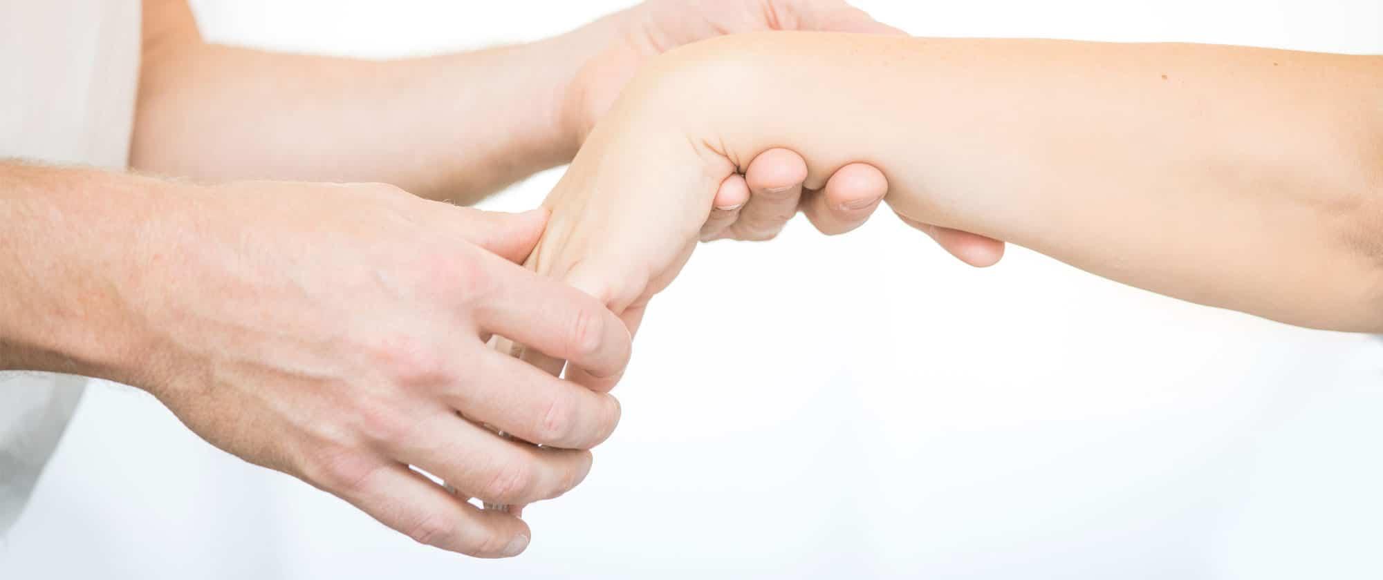 Orthopädische Behandlungen von Hand bis Fuß in München.